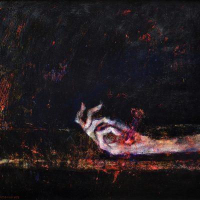 Nikola Pijanmanov, Crucified palm
